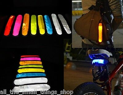 Led Flashing Light Reflective Armbands Hi Viz Cycling Running Jogging Walking