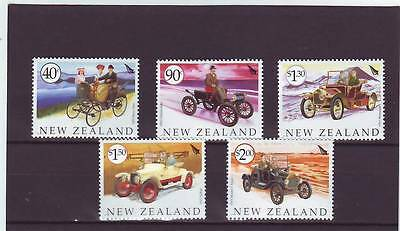 New Zealand - Sg2639-2643 Mnh 2003 Veteran Vehicles