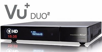 VU+ Duo2 Full HD 1080p Twin Linux Receiver 2x DVB-S2 Tuner PVR ready 1300MHZ