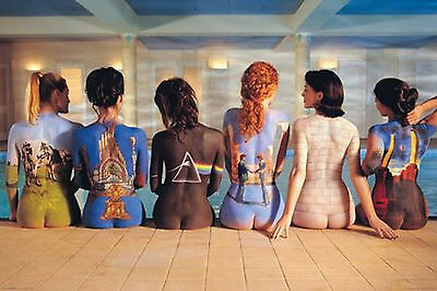 "Pink Floyd Back Catalog Girls Giant Poster 40"" X 60"" New  !"