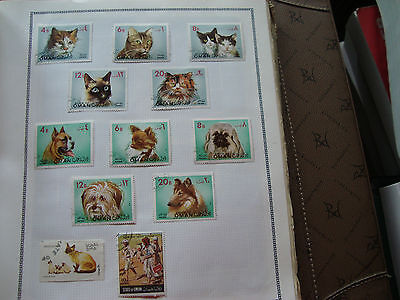 OMAN - 12 timbres obliteres stamp