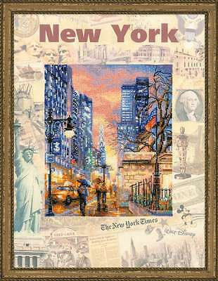 """Counted Cross Stitch Kit RIOLIS 0025 - """"Cities of the World. New York"""""""