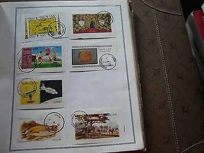 MOYEN-ORIENT - 7 timbres obliteres stamp