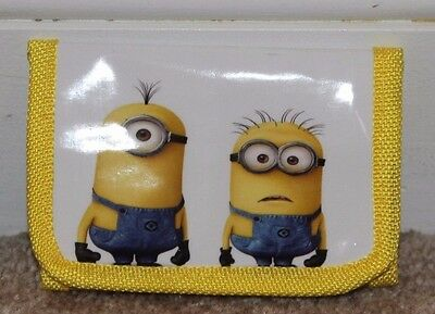 Minion tri fold wallet New One and Two eyed - Yellow - Boys - Girls - MINIONS