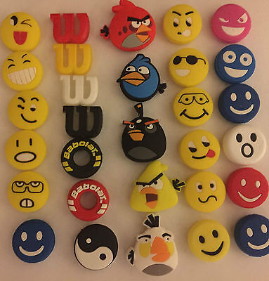 Fun Shock Absorbers Tennis Dampeners for Rackets String Many Varieties