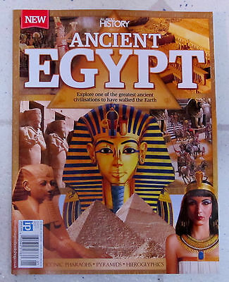 Book Of ANCIENT EGYPT Iconic Pharaohs ALL ABOUT HISTORY 162 Pages PYRAMIDS No. 1