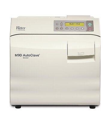 NEW ! Ritter / Midmark M9D AutoClave / Steam Sterilizer - Manual Door, M9D-022