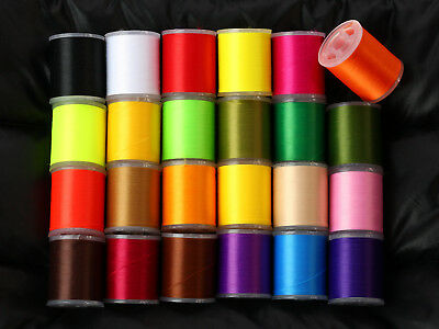 Fly tying thread 150 denier choose from 24 colors,150 Yd spools lures materials