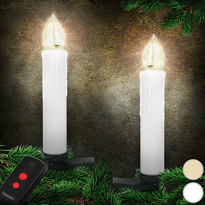 Wireless LED Candle Lights Christmas Tree Decoration Flameless Remote Control