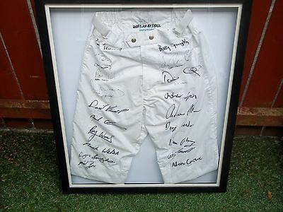 Very Rare Worn Signed Silks Ruby Walsh Ap Mc Coy Framed Genuine Horse Racing