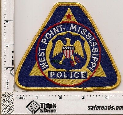 West Point Police.Mississippi.