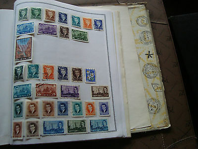 RAN - 34 timbres obliteres stamp
