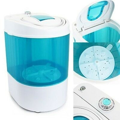 Electric Small Mini Portable Compact Washer Washing Machine 110V 9LB Capacity