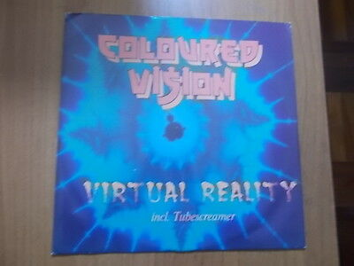 "12"" Coloured Vision - Virtual Reality 1994"