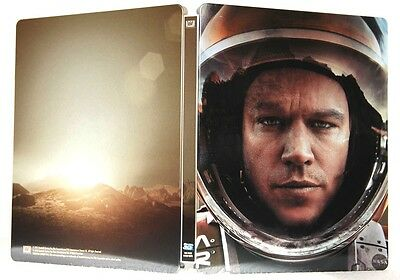 Sopravvissuto - The Martian Steelbook Edition (Blu-Ray 3D + Blu-Ray) Matt Damon
