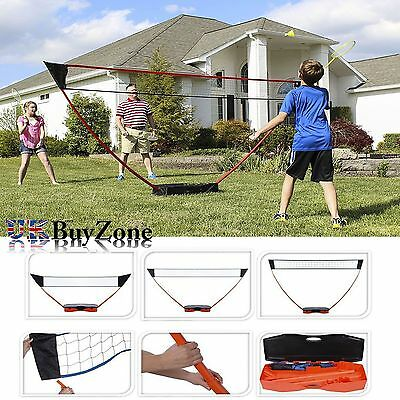 3 in 1 Multi Sports Portable Pop Up Post Net Volleyball Tennis Badminton Garden