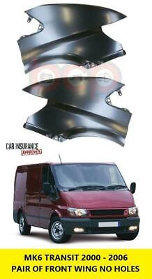 Ford Transit Mk6 2000-2006 Front Wing Wings Pair Left & Right Lh & Rh Primed