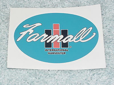 Ih International Harvester Mccormick Farmall Tractor Decal Sticker