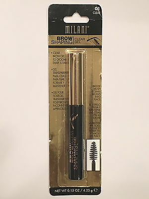 Milani Brow Shaping Clear Gel - 01 Clear - *NEW & SEALED*