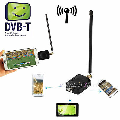 USB DVB-T TV Tuner Mini Digital Mobile Micro Receiver for Android 4.0 HDTV Phone