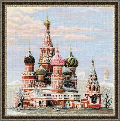"""Counted Cross Stitch Kit RIOLIS - """"Moscow. St. Basil's Cathedral"""""""