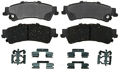 Disc Brake Pad Set-Ceramic Disc Brake Pad Rear ACDelco Advantage 14D1377CH