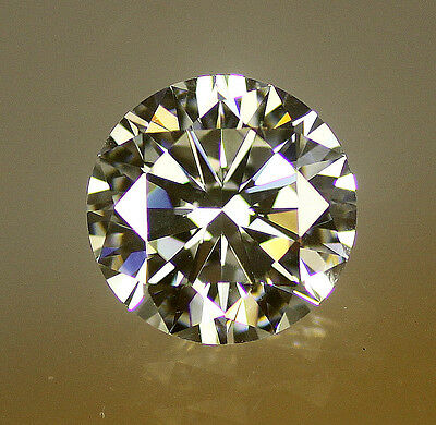 6A AAAAAA Round Brilliant Cut Cubic Zirconia - Warm White H-J & K-M colour CZ