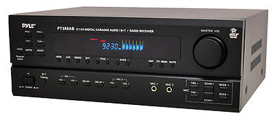 Pyle 5.1Ch Home Theater Receiver System Surround Sound Subwoofer Hdmi Bluetooth