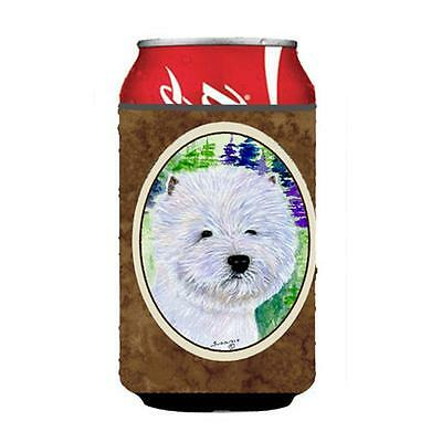 Carolines Treasures SS8002CC Westie Can Or Bottle Hugger 12 oz.