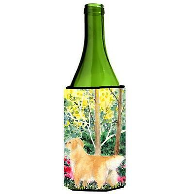 Carolines Treasures SS8886LITERK Golden Retriever Wine Bottle Hugger 24 oz.
