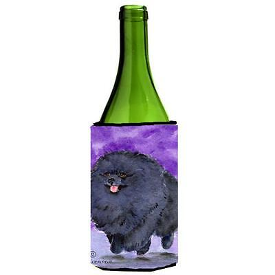 Carolines Treasures SS8686LITERK Pomeranian Wine bottle sleeve Hugger