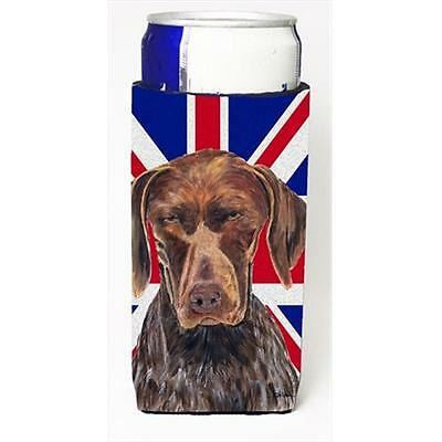 German Shorthaired Pointer With English Union Jack British Flag Michelob Ultr...