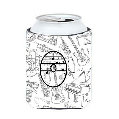 Carolines Treasures CJ2007-OCC Letter O Musical Note Letters Can & Bottle Hugger • AUD 45.90