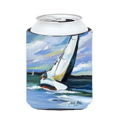 Carolines Treasures JMK1232CC Two And A Sailboat Can & Bottle Hugger