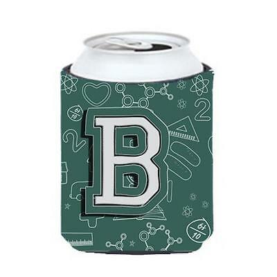 Carolines Treasures Letter B Back To School Initial Can & Bottle Hugger