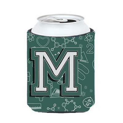 Carolines Treasures Letter M Back To School Initial Can & Bottle Hugger