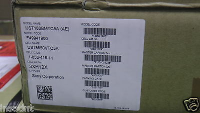 SONY VTC5A 2600mAh 35A - NEW 35A Cell from Sony Unprotected Flat Top Cell