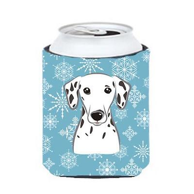 Carolines Treasures BB1644CC Snowflake Dalmatian Can & Bottle Hugger