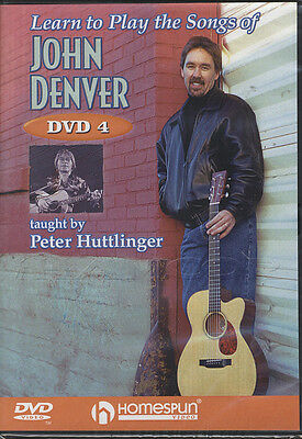 Learn To Play The Songs of John Denver 4 Guitar Tuition DVD by Pete Huttlinger