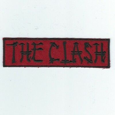 The Clash Logo 2 Embroidered Patch !