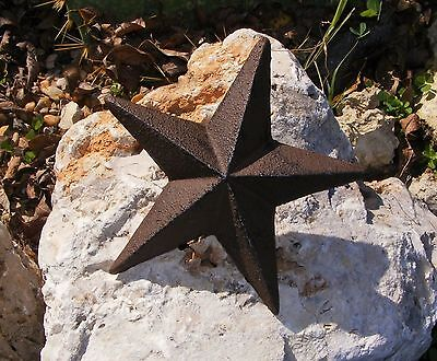 Cast Iron Star Nail Wall Garden Home Country Decor Rustic Primitive Western #108