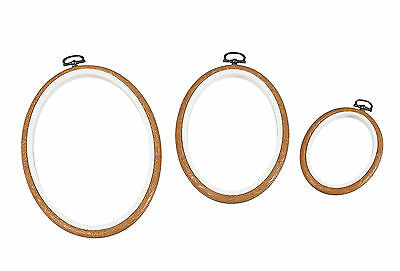 "Dmc 5"" Wood Round 2 In 1 Embroidery Hoop Mv0033L/130  Free Uk Post And Packing"
