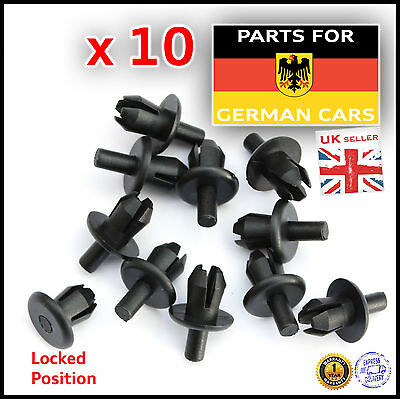 Audi TT Mk1 Upper Front Panel Engine Bay Clip Fastener Spreader Expanding Rivet