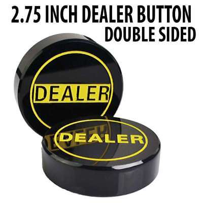 3 inch Hockey Puck Style Double Sided Poker Dealer Button