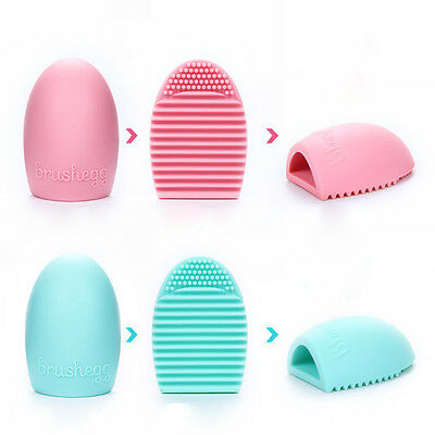 Maquillage Pinceaux Nettoyeurs Silicone Vaisselle Gant Ponceuse Nettoyage Outil