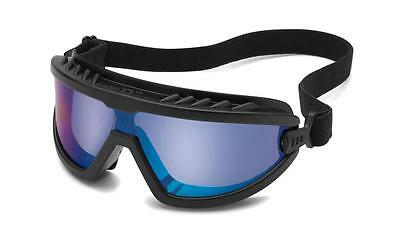 Gateway Wheelz Blue Mirror Safety Goggles Glasses Lightweight Compact Z87+