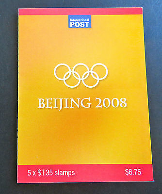Australian Stamps: 2008 - Beijing 2008 Olympics Booklet - Gymnists