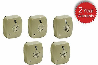 5 X Pestbye Plug In Mouse Repeller Pest Insect Ant Control Ultrasonic Repellent