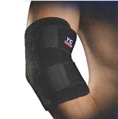 Neoprene Adjustable Elbow Support Tennis Arthritis Strap Brace Gym Sport