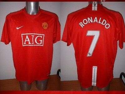 Manchester United 7 RONALDO Nike Jersey Shirt Adult XL Soccer Football Portugal